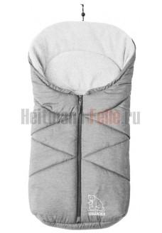 Конверт heitmann felle winter флис Grey Melange светло-серый меланж 7963SG