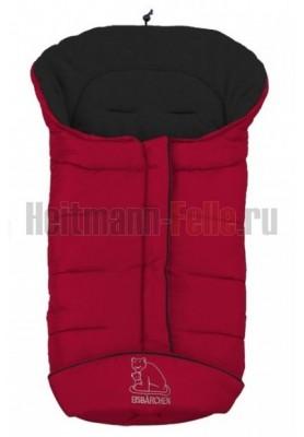Конверт heitmann felle winter Ф лис Dark Red  темно-красный 7965SR