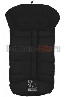 КОНВЕРТ HEITMANN FELLE WINTER COSY TOES ИЗ ФЛИСА ЧЕРНЫЙ 7965 S