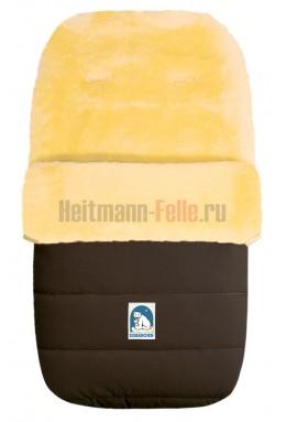 Конверт heitmann felle lambskin овчина коричневый (968 mo)