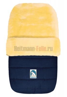 Конверт heitmann felle lambskin овчина синий (968 ma)