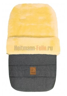 Конверт Heitmann Felle Lambskin Grey-melange 2019 NEW Серый-меланж Овчина (968GM)
