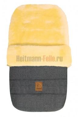Конверт Heitmann Felle Lambskin Grey-melange 2019 NEW Серый-меланж Овчина (968GM)