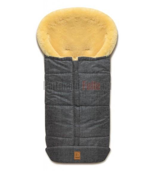Купить Конверт Heitmann Felle Premium Cosy Toes Из Овчины Grey-melange 2019 NEW Серый-меланж 975 Be