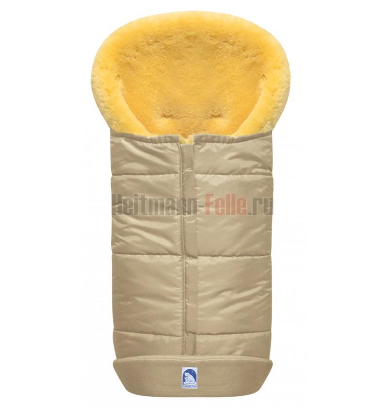 Конверт из овчины Heitmann Felle 975 Premium Lambskin Cosy Toes (серый)