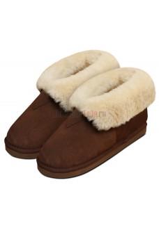 Ботинки Heitmann Felle Lambskin Slippers овчина коричневый 387