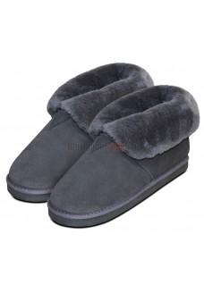 Ботинки Heitmann Felle Lambskin Slippers овчина серый 386